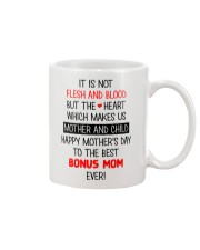 Not Flesh And Blood  Mug front