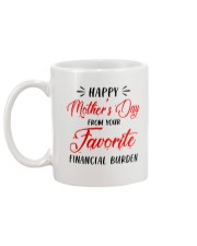 Favorite Financial Burden Mug back