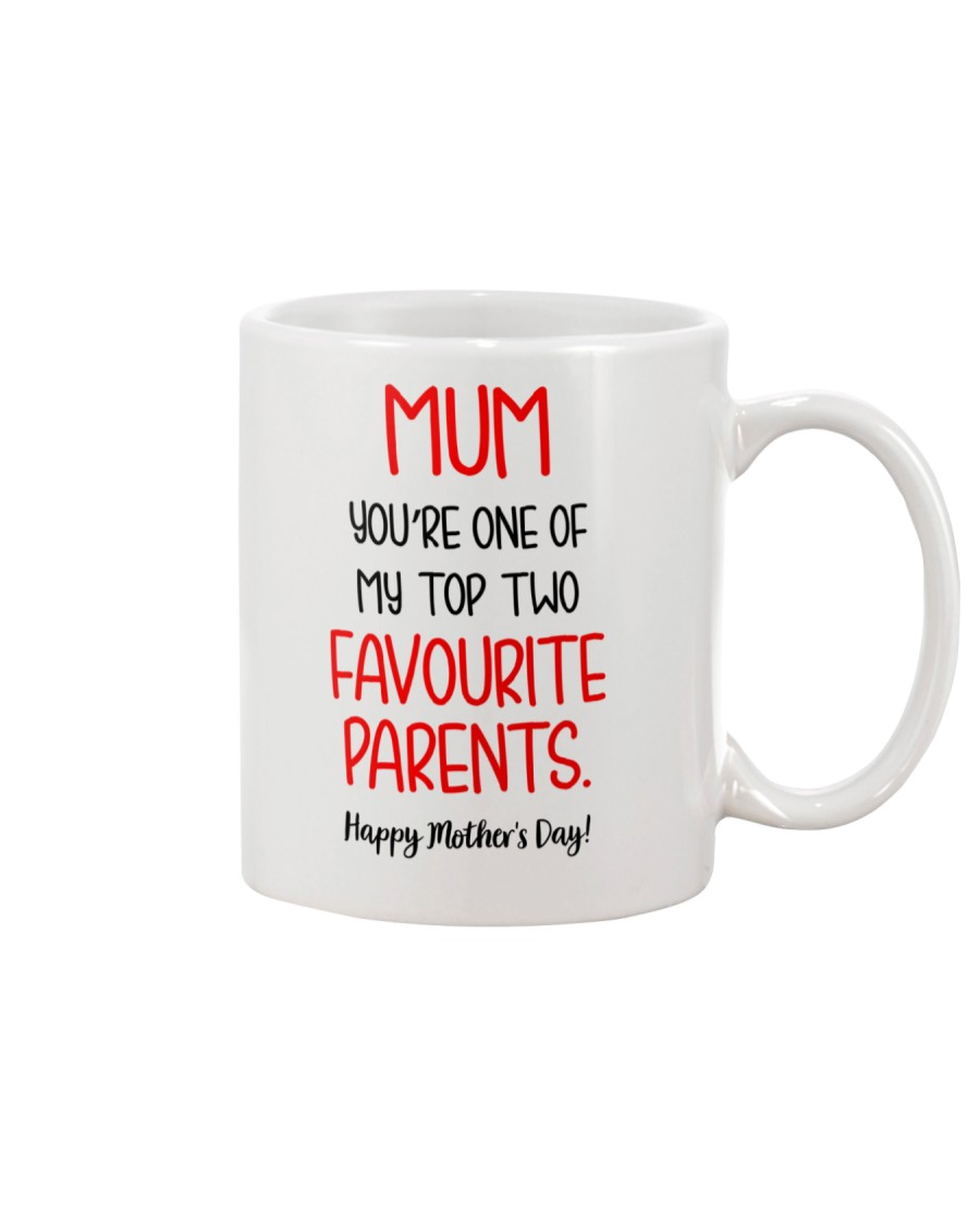 Top Two Favourite Parents Mug