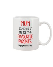 Top Two Favourite Parents Mug front