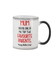 Top Two Favourite Parents Color Changing Mug thumbnail