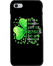 Be A Shamrock Phone Case tile