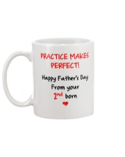 Practice Makes Perfect 2nd Born Mug back