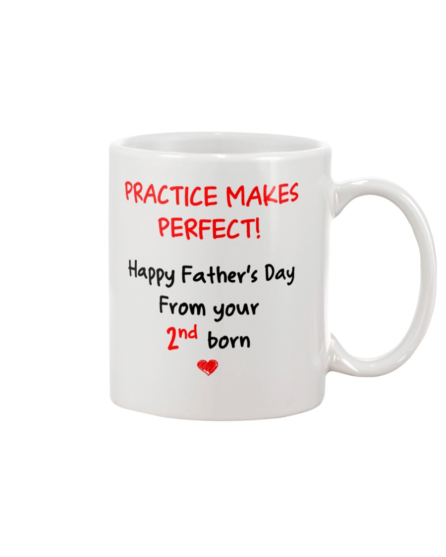 Practice Makes Perfect 2nd Born Mug