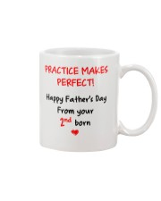 Practice Makes Perfect 2nd Born Mug front