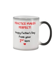Practice Makes Perfect 2nd Born Color Changing Mug thumbnail