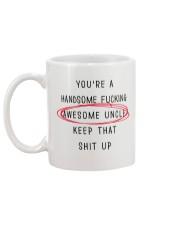 Pretty Awesome Uncle Mug back