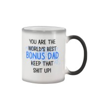 Best Bonus Dad Color Changing Mug thumbnail