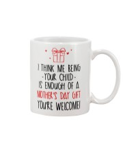 Your Child Is Enough Mug front