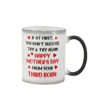 Try Again From Third Born Color Changing Mug thumbnail