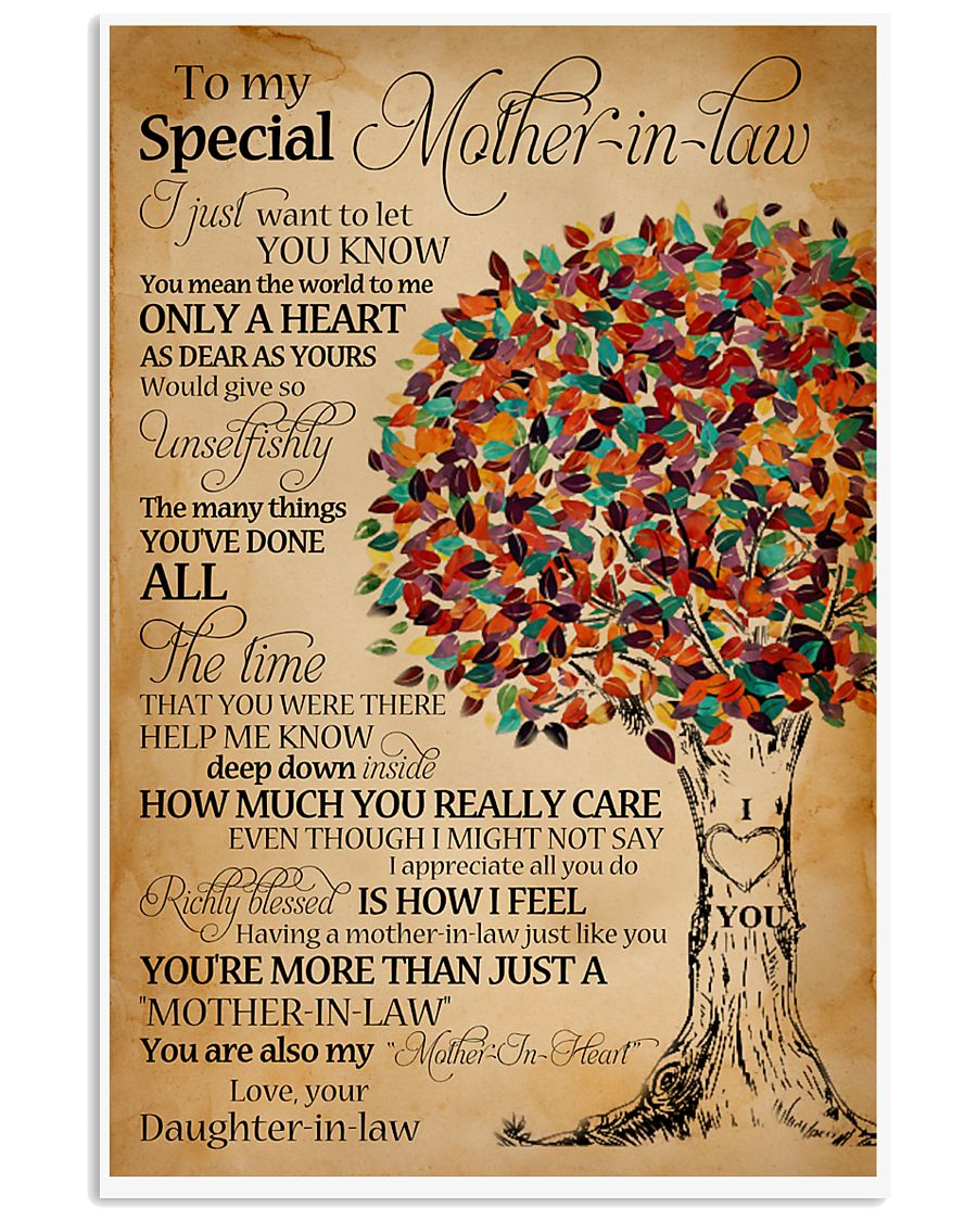 Mother-in-law 11x17 Poster