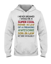 Super Cool Father-in-law Hooded Sweatshirt thumbnail