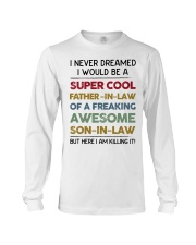 Super Cool Father-in-law Long Sleeve Tee thumbnail