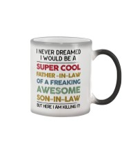 Super Cool Father-in-law Color Changing Mug thumbnail