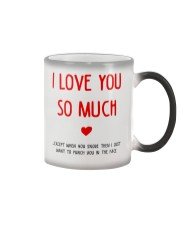 Love So Much Except Snore Color Changing Mug thumbnail