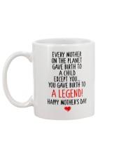 Gave Birth To A Legend  Mug back