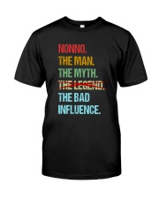 Nonno Bad Influencer Classic T-Shirt front