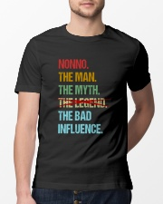 Nonno Bad Influencer Classic T-Shirt lifestyle-mens-crewneck-front-13