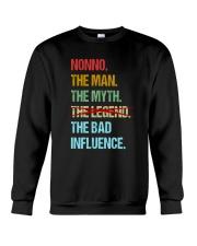 Nonno Bad Influencer Crewneck Sweatshirt thumbnail