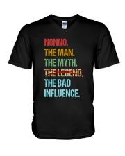 Nonno Bad Influencer V-Neck T-Shirt thumbnail