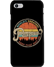 World's Greatest Pawpaw Keep Up Phone Case tile