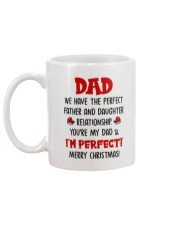 The Perfect Daughter-dad Relationship Mug back