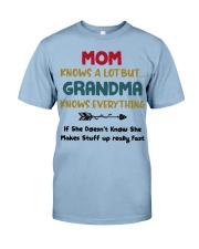Grandma Knows Everything Premium Fit Mens Tee thumbnail