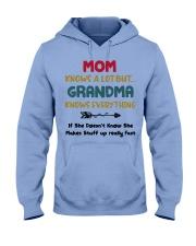Grandma Knows Everything Hooded Sweatshirt thumbnail