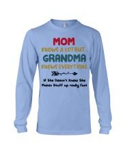 Grandma Knows Everything Long Sleeve Tee thumbnail