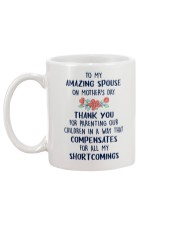 To My Amazing Spouse Mug back