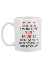 Your Real Daughter Father In Law Mug back