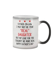 Your Real Daughter Father In Law Color Changing Mug thumbnail