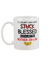 Stuck With A Better Mother-in-law Mug back