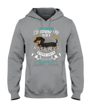 Super Sexy Doxie Lady Hooded Sweatshirt thumbnail