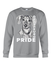 PRIDE DACHSHUND Crewneck Sweatshirt thumbnail