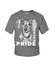 PRIDE DACHSHUND Youth T-Shirt thumbnail