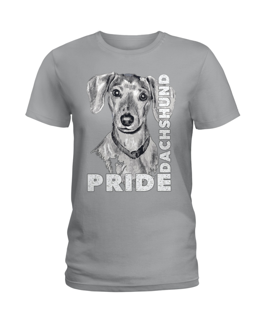 PRIDE DACHSHUND Ladies T-Shirt