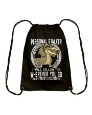 wherever you go Drawstring Bag thumbnail