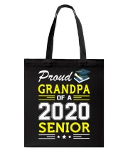Proud Grandpa Of A 2020 Senior Graduation Tote Bag thumbnail