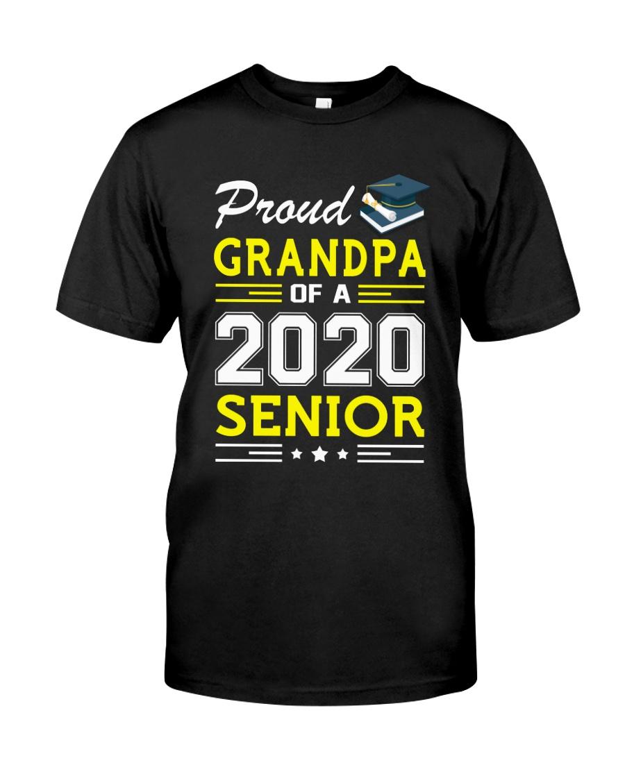 Proud Grandpa Of A 2020 Senior Graduation Classic T-Shirt