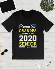 Proud Grandpa Of A 2020 Senior Graduation Classic T-Shirt lifestyle-mens-crewneck-front-17
