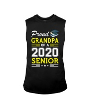 Proud Grandpa Of A 2020 Senior Graduation Sleeveless Tee front