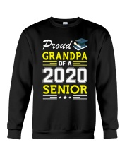 Proud Grandpa Of A 2020 Senior Graduation Crewneck Sweatshirt thumbnail