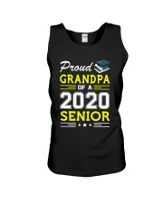Proud Grandpa Of A 2020 Senior Graduation Unisex Tank thumbnail