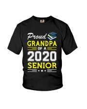 Proud Grandpa Of A 2020 Senior Graduation Youth T-Shirt thumbnail