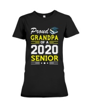 Proud Grandpa Of A 2020 Senior Graduation Premium Fit Ladies Tee thumbnail