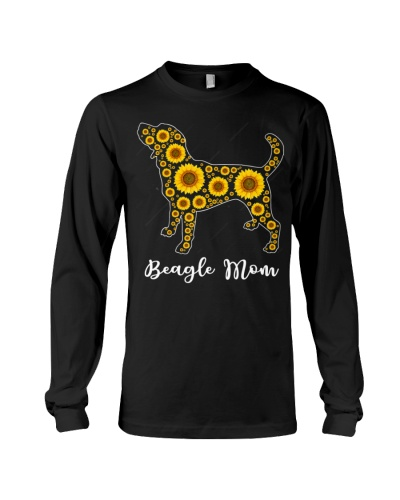 Sunflower Beagle Dog Mom Beagle Lover