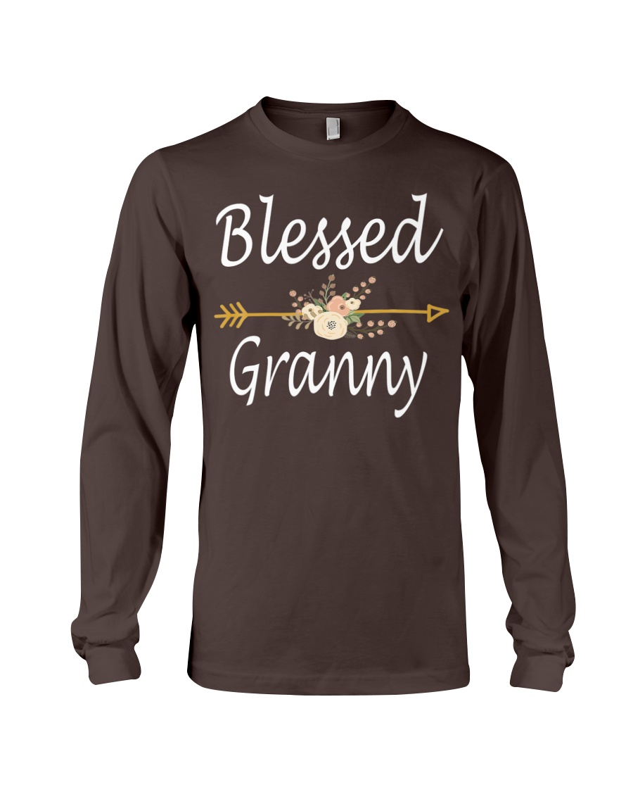 Blessed Granny Mothers Day Gifts  Long Sleeve Tee