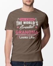 What Worlds Greatest Grandma Looks Like Classic T-Shirt lifestyle-mens-crewneck-front-13
