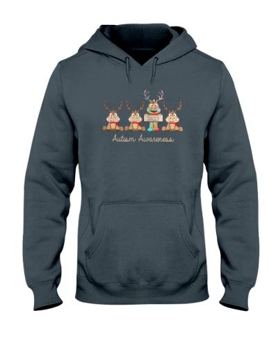 Christmas Reindeer autism awareness dare to be